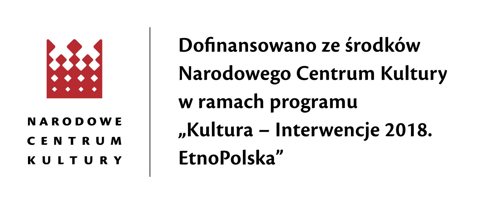 logo NCK EtnoPolska 2018